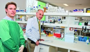 Chris Bryant and Derek Hart from the Dendritic Cell Research group