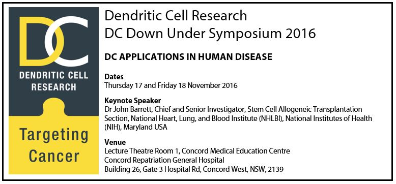 Save the Date for DC Down Under 2016